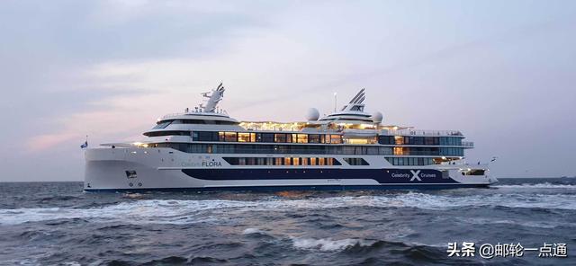 精美邮轮探险船Celebrity Flora号进行定名典礼